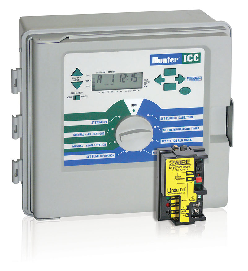hunter icc 2wire decoder module rh underhill us Hunter ICC 800PL Troubleshooting hunter icc controller owner's manual